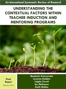 Understanding the Contextual Factors Within Teacher Induction and Mentoring Programs An International Systematic Review of Research